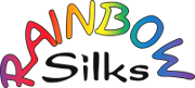 Rainbow Silks logo