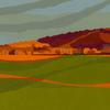 Chinnor Hill from Bledlow by Christine Bass