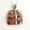 Copper fold formed pendant