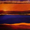 The Journey -Acrylic canvas, abstract landscape, giclee prints