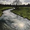Spring River Thame | Oil on canvas | 50x60cm