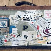 Aunt Joan's 1930's travels.... collage