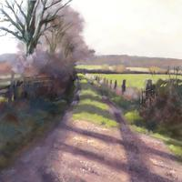 The Colours of Winter: a sidetrack off The Ridgeway Path