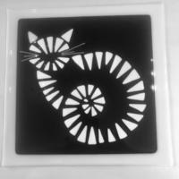 Monochrome platter also comes in rainbow option!