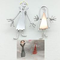 SticKidz - wearable keepsakes created from children's drawings
