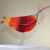 Papier-mâché Chicken