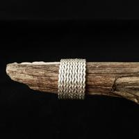 Wave Stacking Ring by Nat McIntosh Jewellery