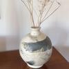 hand built moon jar