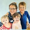 Georgia and Family, Portraits for NHS Heroes