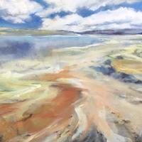Estuary    90cm x 60cm  Acrylic
