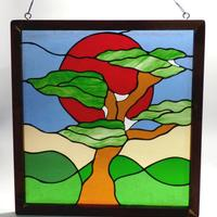 Bonsai Tree - Stained glass by Vitreus Art