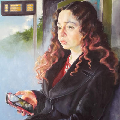 Portraits and life drawings in oils, watercolours and mixed media.