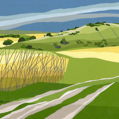 The Ridgeway, Steps Hill by Christine Bass