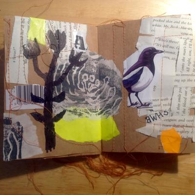 Small hand made 'sketch' book