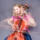 Moving portrait of a young woman playing the cello