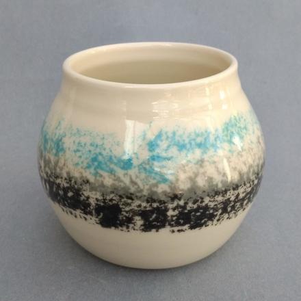 Small thrown vase
