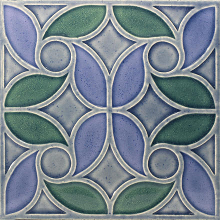 Breton Design Ceramic Coaster by Helen White