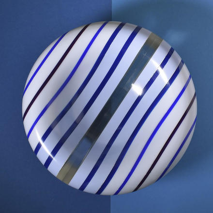 Graham Lester Corian bowl in blue and white