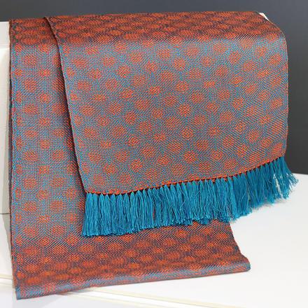 Ann Brooks woven scarf