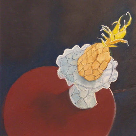 Mary Barnes - Still Life with Pineapple