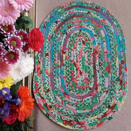 Sarah Orpin Jelly Roll Rug