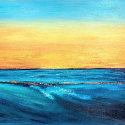 "Awaken the Dawn acrylic on Canvas 30""x 40"""