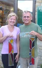 Vitreus Art Stained Glass workshops for beginners - traditional leaded glass