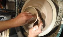 Pottery throwing classes