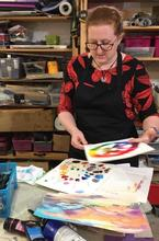 Art, painting and drawing evening courses at Vitreus Art